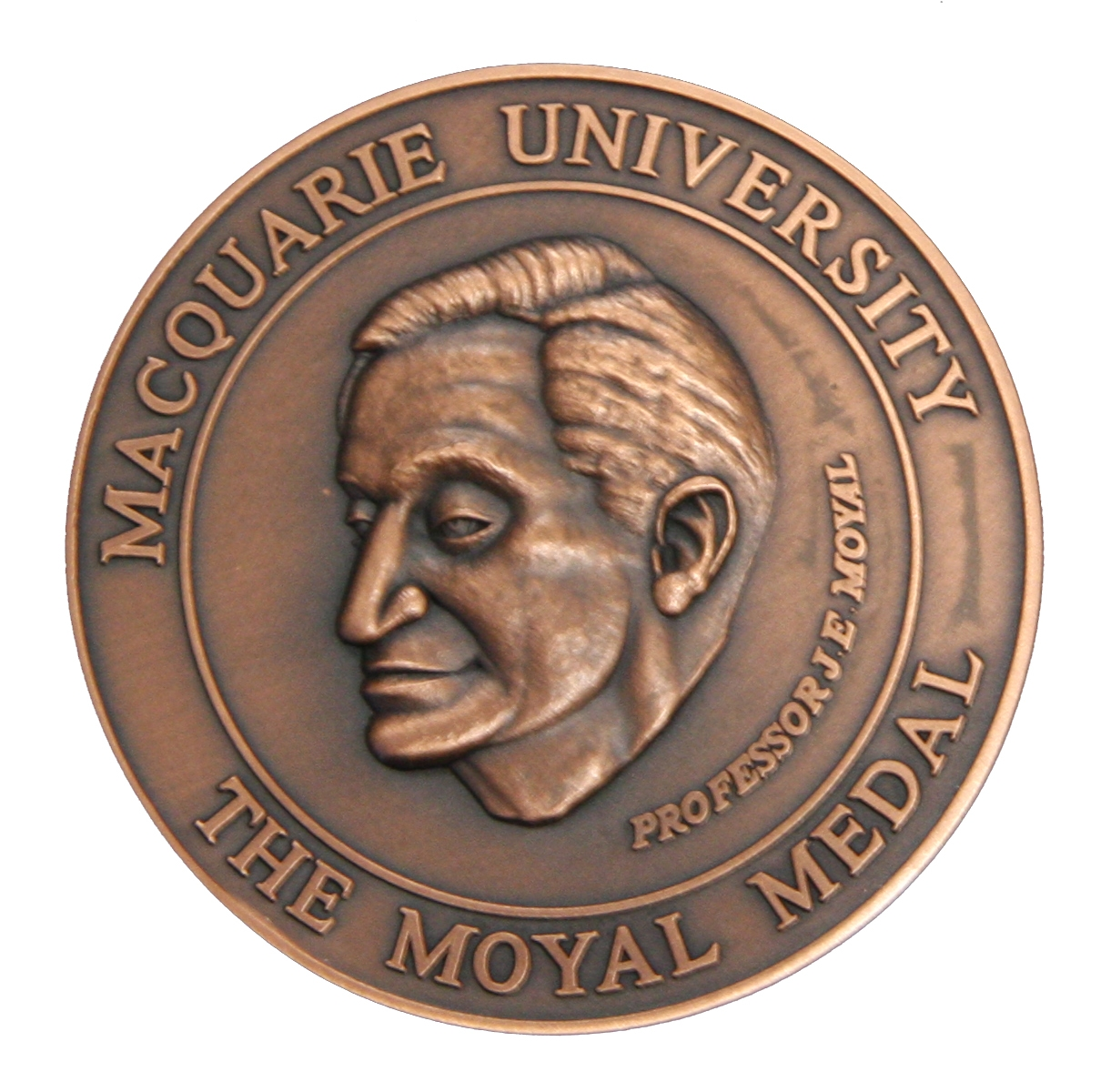 front face of Moyal medal